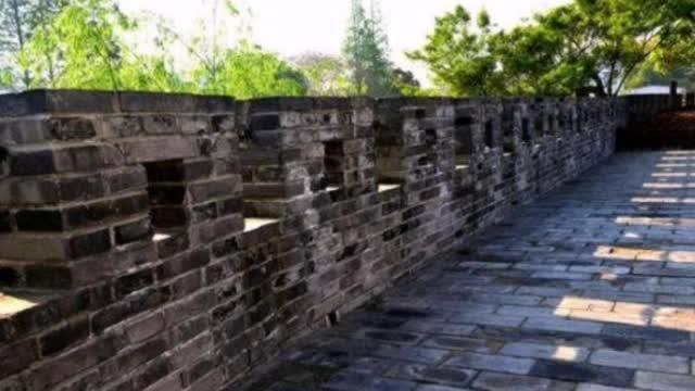 探寻上海最小公园——川沙古城墙公园