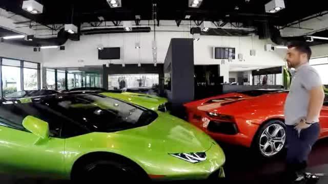 地表最昂贵的车库, 每辆超跑间的距离竟只有2公分