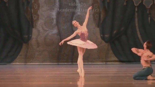 2020年7月12日 马林斯基剧院 海盗大双人舞慢板 Oxana Skorik……