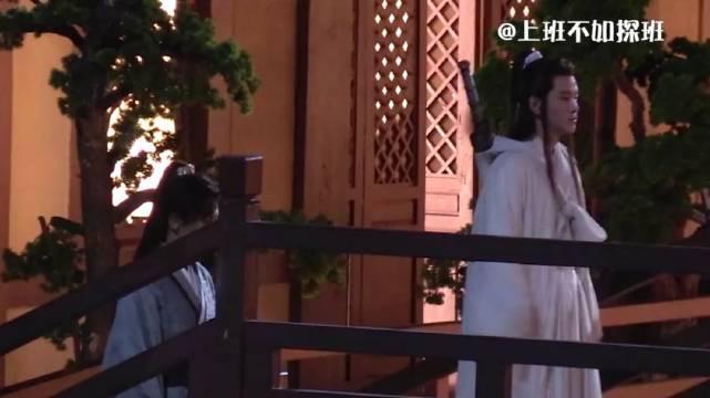 张哲瀚、黄宥明古装剧《天涯客》路透……