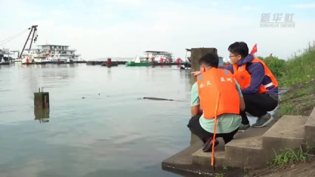 鄱阳湖水位已突破1998年历史最高值。新华社
