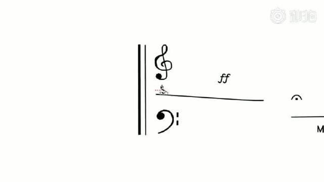 """用""""滑线骑行""""的方式表现贝多芬的《命运交响曲》……"""