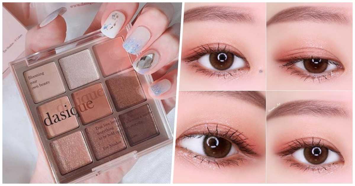 美瞳加持眼妆技法,蜜糖色调雪泪眼色眼妆,眼睛放大2倍直达混血级眸!