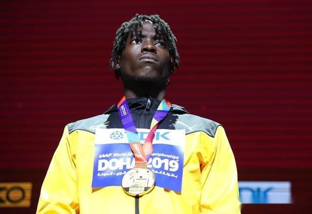 24岁牙买加田径跳远天才夺冠 实力飙升超越王嘉男石雨豪
