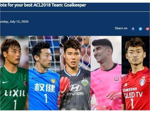 亚足联评选18赛季亚冠最佳门将,中超一人入选,获赞众望所归