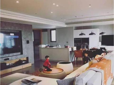 范玮琪陈建州爱巢:儿子的床比我们客厅都大