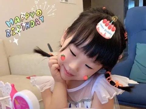 小米粒4岁生日首次露正脸,颜值终于逆袭像秦昊,伊能静高调晒照