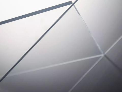 透明亚克力材质的标识标牌分享