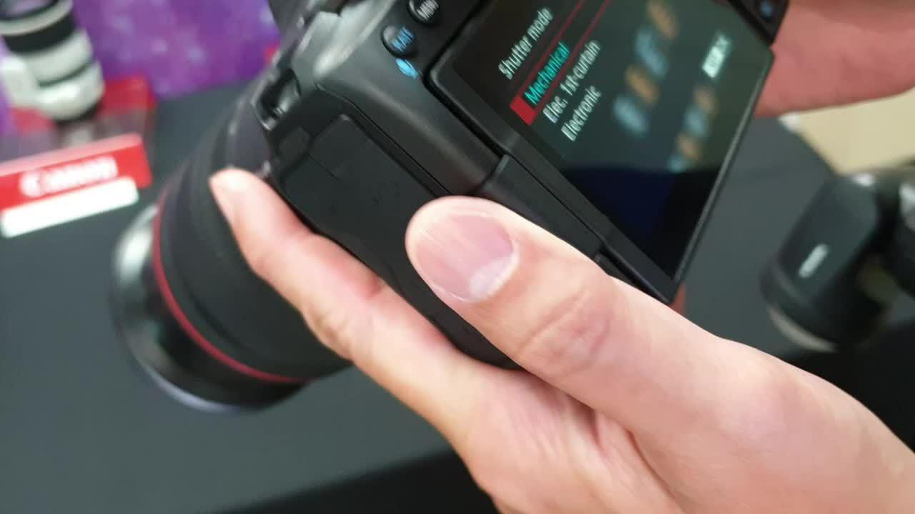 Mobile01的佳能EOS R5连拍上手……