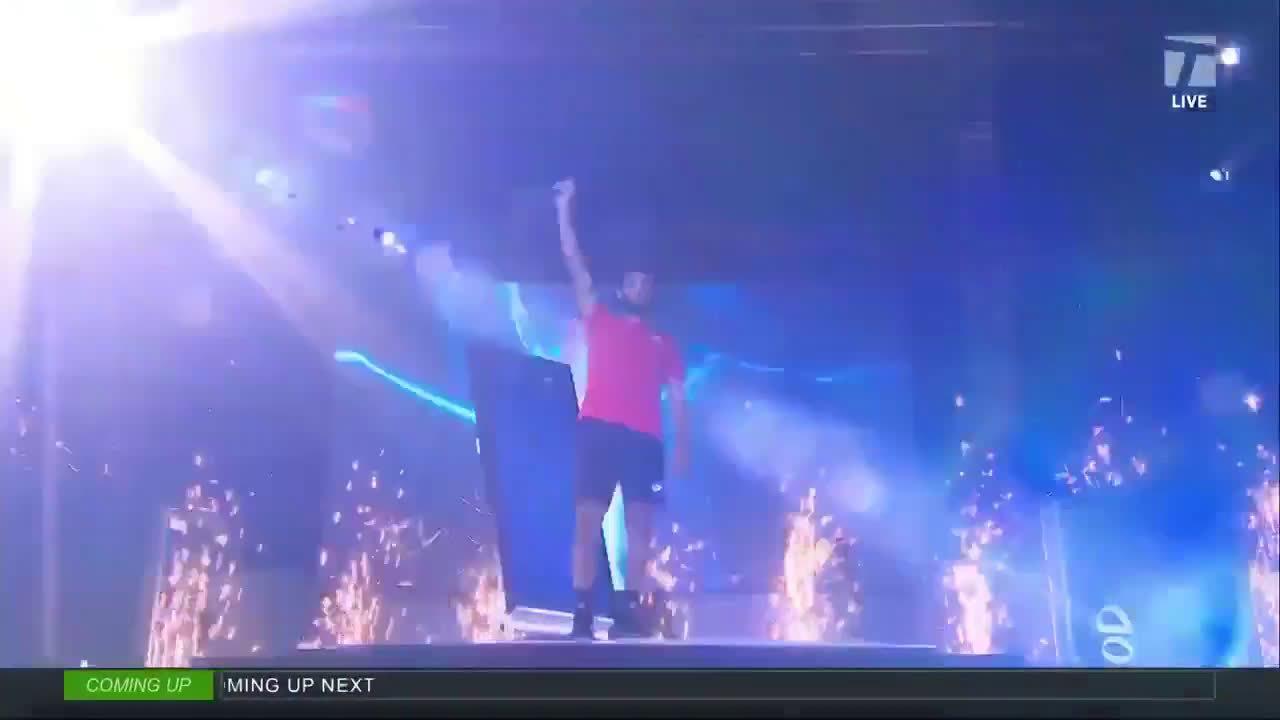 UTS表演赛为贝雷蒂尼制作了一个超酷炫的夺冠视频……
