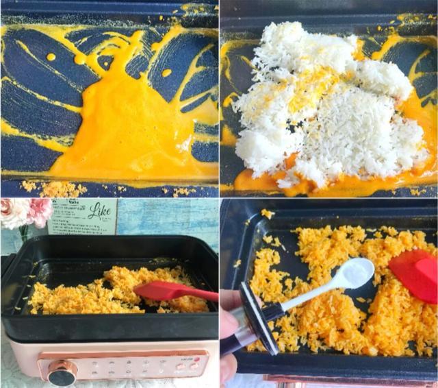10分钟就搞定的金沙咸蛋黄炒饭,沙沙感越吃越香,家里人的最爱