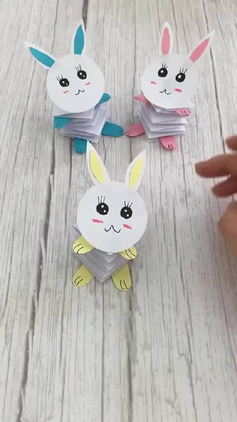 弹跳兔子,孩子玩这个不想玩手机了