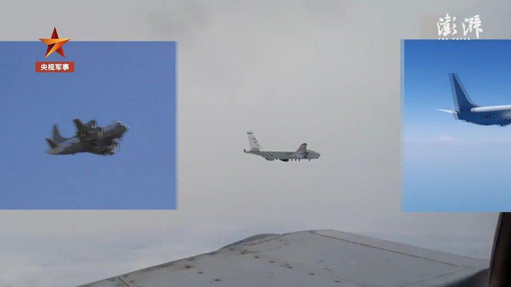 美军机连续3天抵近中国沿海侦察:距离广东海岸最近时不足100公里