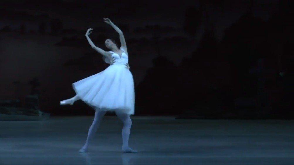 马林斯基剧院 吉赛尔二幕双人舞 Maria Shirinkina……
