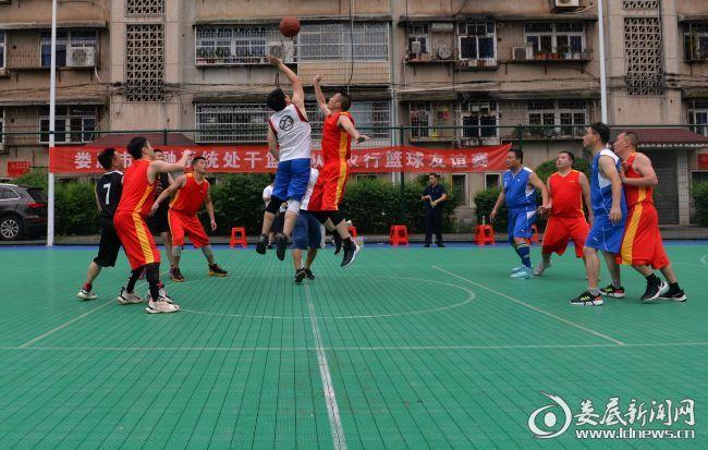 娄底市金融系统处干篮球队友谊赛在娄底农行开赛