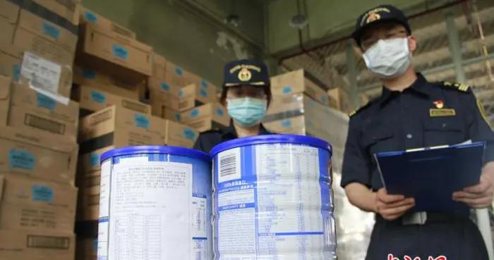 北京海关查获2018年以来金额最大进口不合格食品案