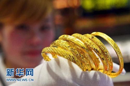 盐城黄金饰品价格一年涨了四成