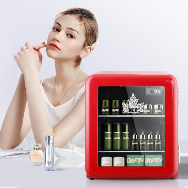 HCK哈士奇美妆冰箱,化身护肤品守护专家