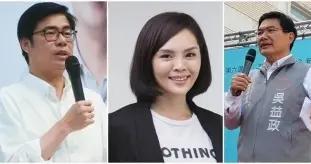 高雄市长补选三位候选人积极备战 街头民调陈其迈大幅领先
