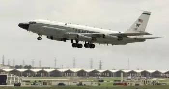 台媒:美军一架侦察机飞经台湾东部空域