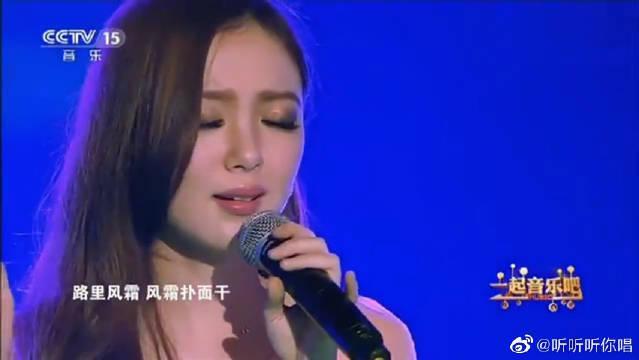 美女汪小敏翻唱《倩女幽魂》,开口的瞬间,现场观众全都沸腾了