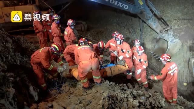 广西百色一在建工地塌方:致4人被埋……