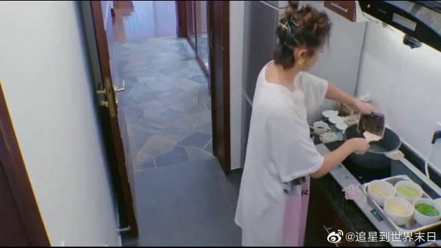 """张歆艺太贤惠了,亲自下厨给谢娜做""""生日餐"""",大家都看馋了!"""