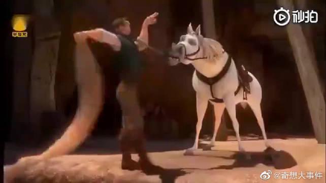 这马🐴 我认得!它是二哈的大哥!它叫马大哈