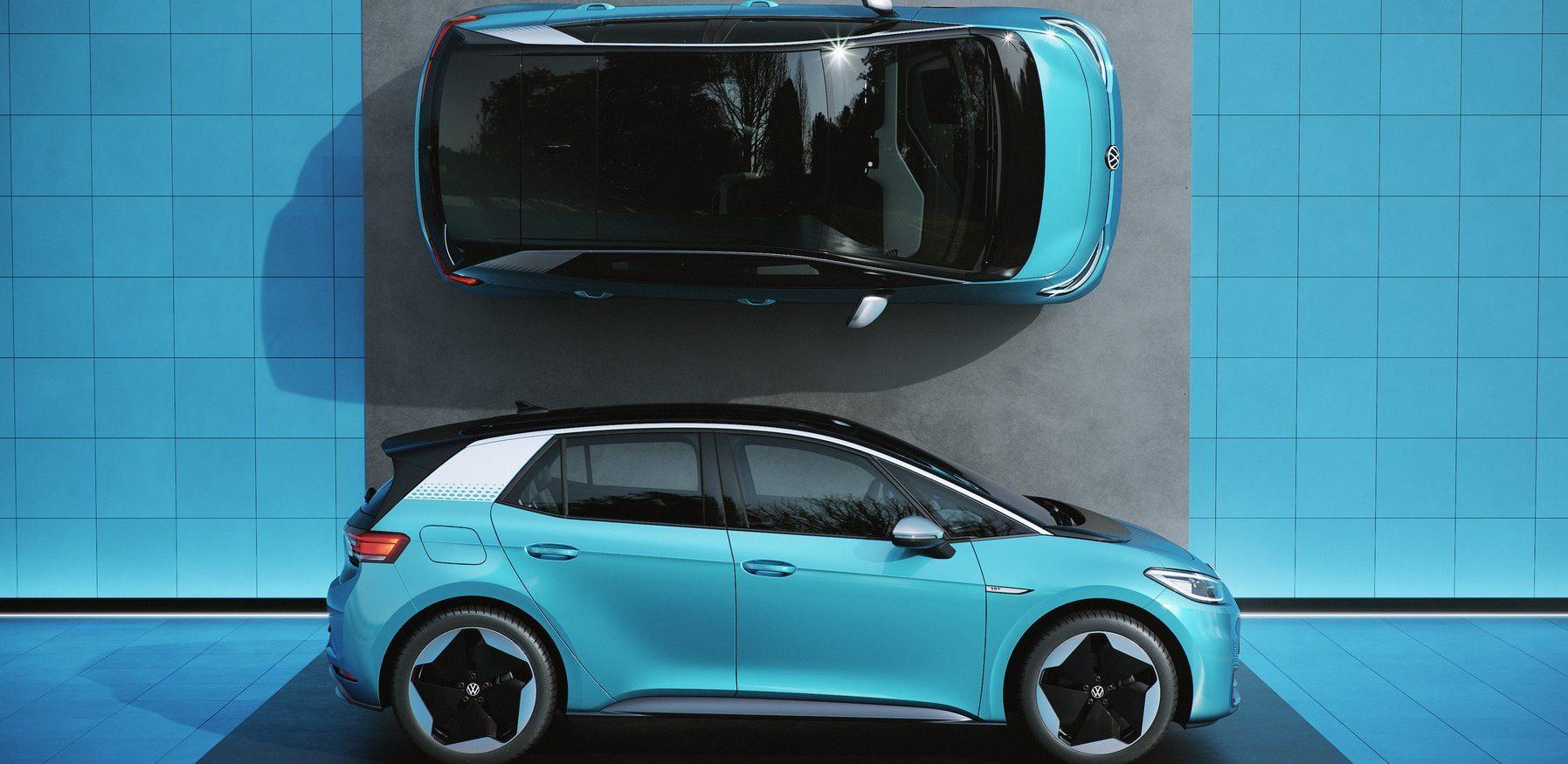 大众汽车将于7月20号开始销售ID.3电动车