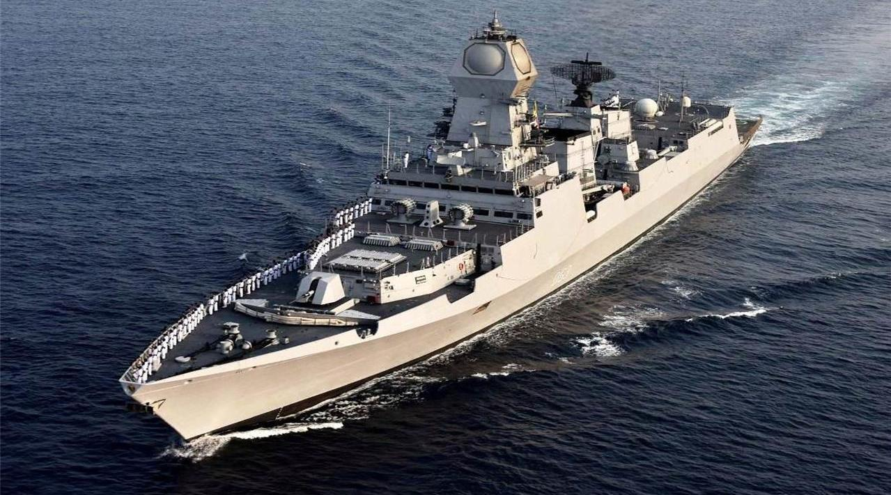 为了向东方释放信号,又一大国派出军舰力挺印度,完全是个白眼狼