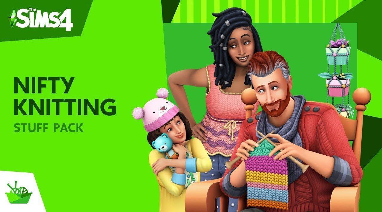 "EA《模拟人生4》最新扩充包""巧手针织""中文宣传片公开……"