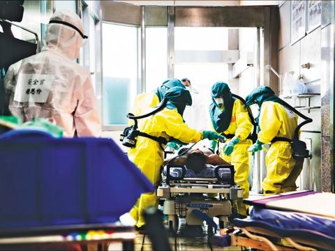 """台军""""汉光""""军演模拟遭生物战剂袭击,加入民间医院参与处置"""