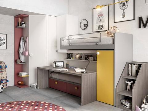 进口儿童家具图片 一起看看这几款LOFT式概念设计方案