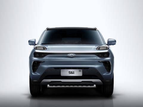 S61并未换标,飞机拉杆档柄,奇瑞新能源发布A级纯电SUV