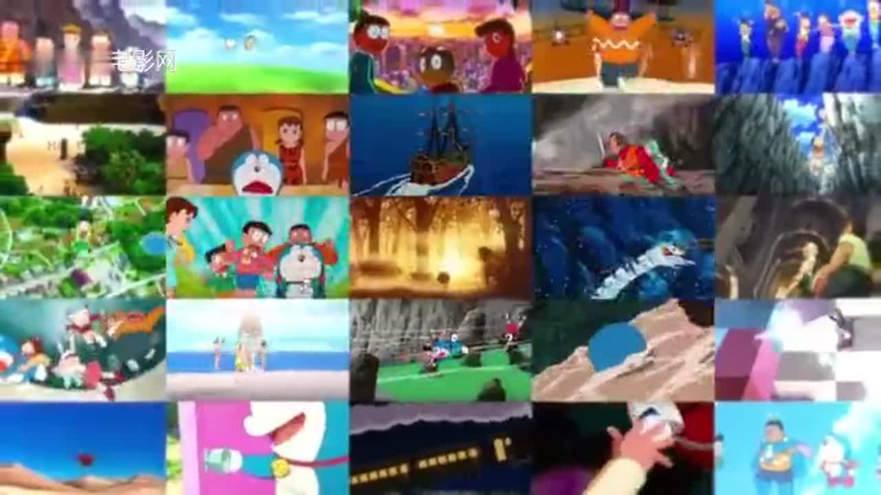 《哆啦A梦:大雄的新恐龙》日本新档期预告片