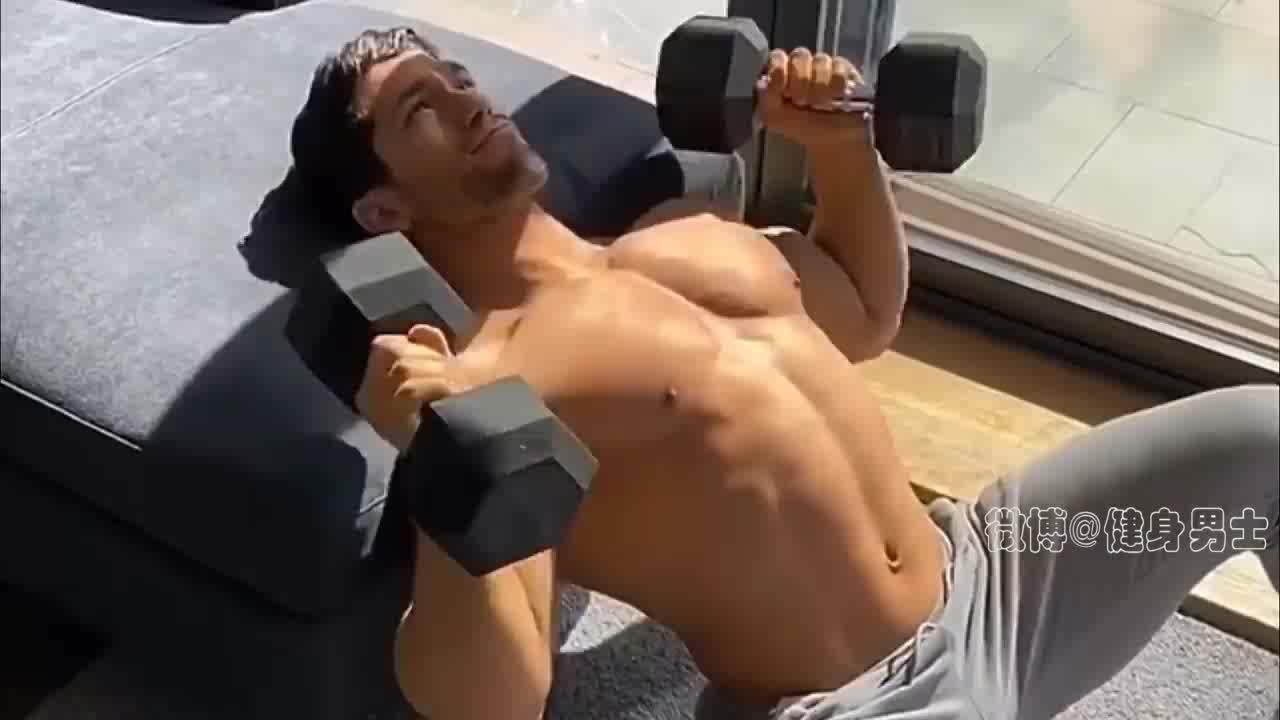 最好的家用胸部训练,一套动作虐爆整个胸肌,赶紧试试!