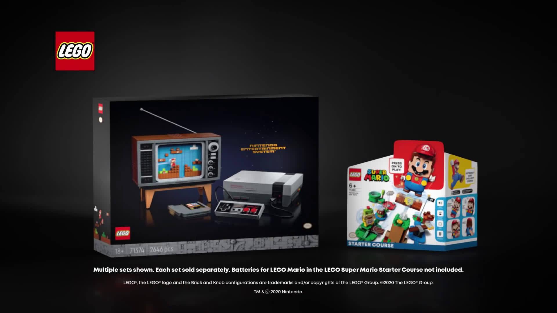 乐高与任天堂合作推出新款《超级马里奥兄弟》系列玩具……