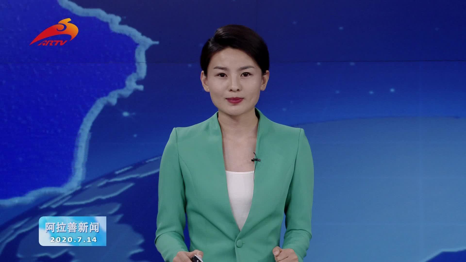 自治区副主席李秉荣到额济纳旗调研