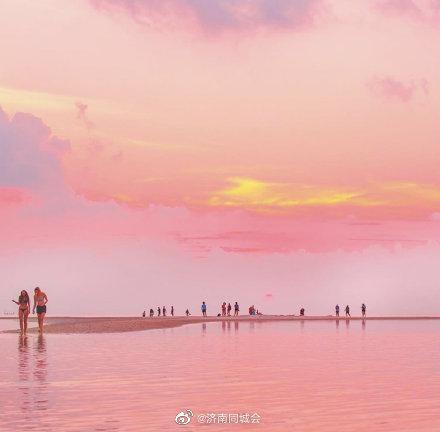 悉尼落日——蓝粉色永远让人治愈