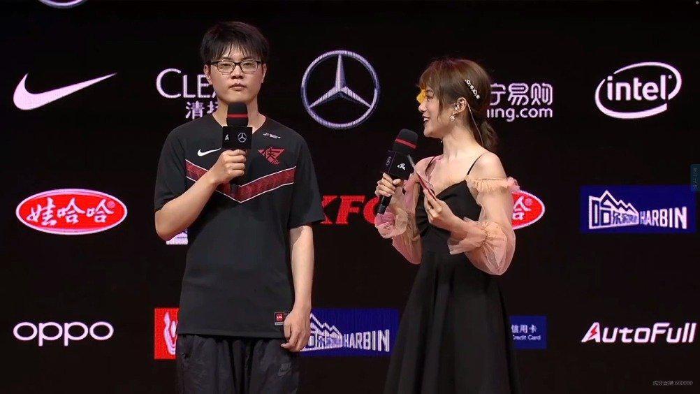 赛后采访Wuming:拿下首胜之后大家更有自信了