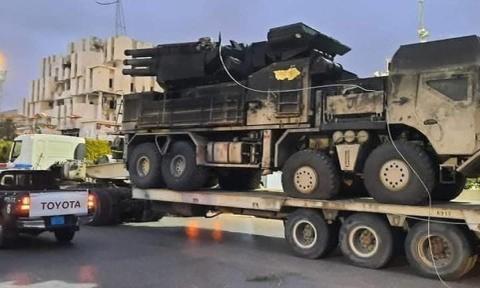 """底盘不一样,新""""铠甲""""现身利比亚,叙利亚政府军提供的?扯!"""