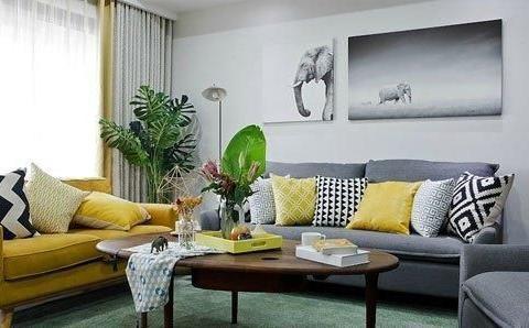 舒服的北欧风跃层公寓装修,全屋配色很完美,设计简约特别实用!