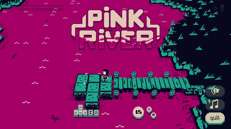 创意小游戏《pink river》其独特玩法收获了大量好评……