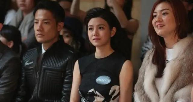 陈妍希才是微胖界女神,穿黑色无袖连衣裙搭配大背头,高级大气