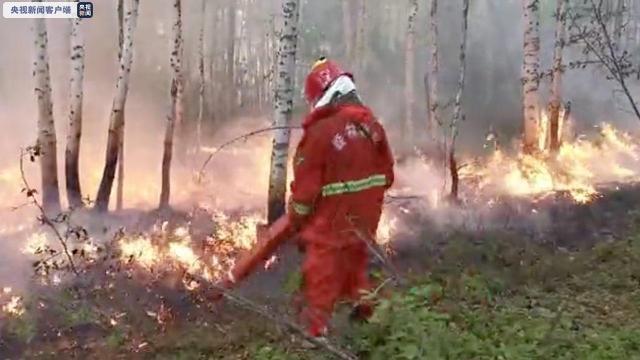 内蒙古大兴安岭林区发生21起雷电火灾 已成功合围扑灭20起