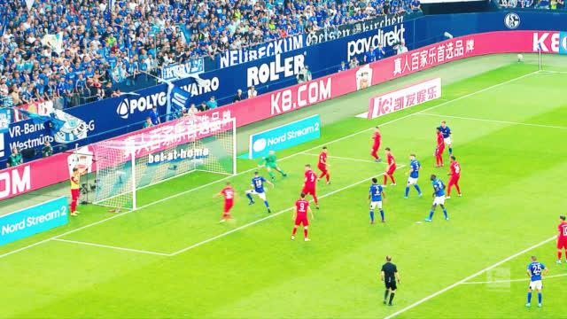 德甲19/20赛季3 0 大战役🔥 ⚔ 沙尔克04 0-3 拜仁慕尼黑 💥莱万