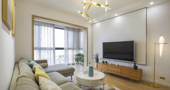 新房91平米三居室混搭风格,装修只用了9万,谁看谁说划算!-融创南湖逸家装修