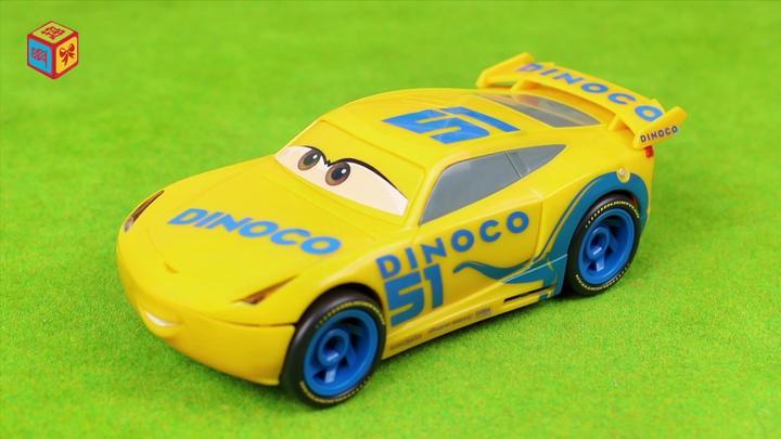 赛车总动员3酷姐的组装套装玩具分享