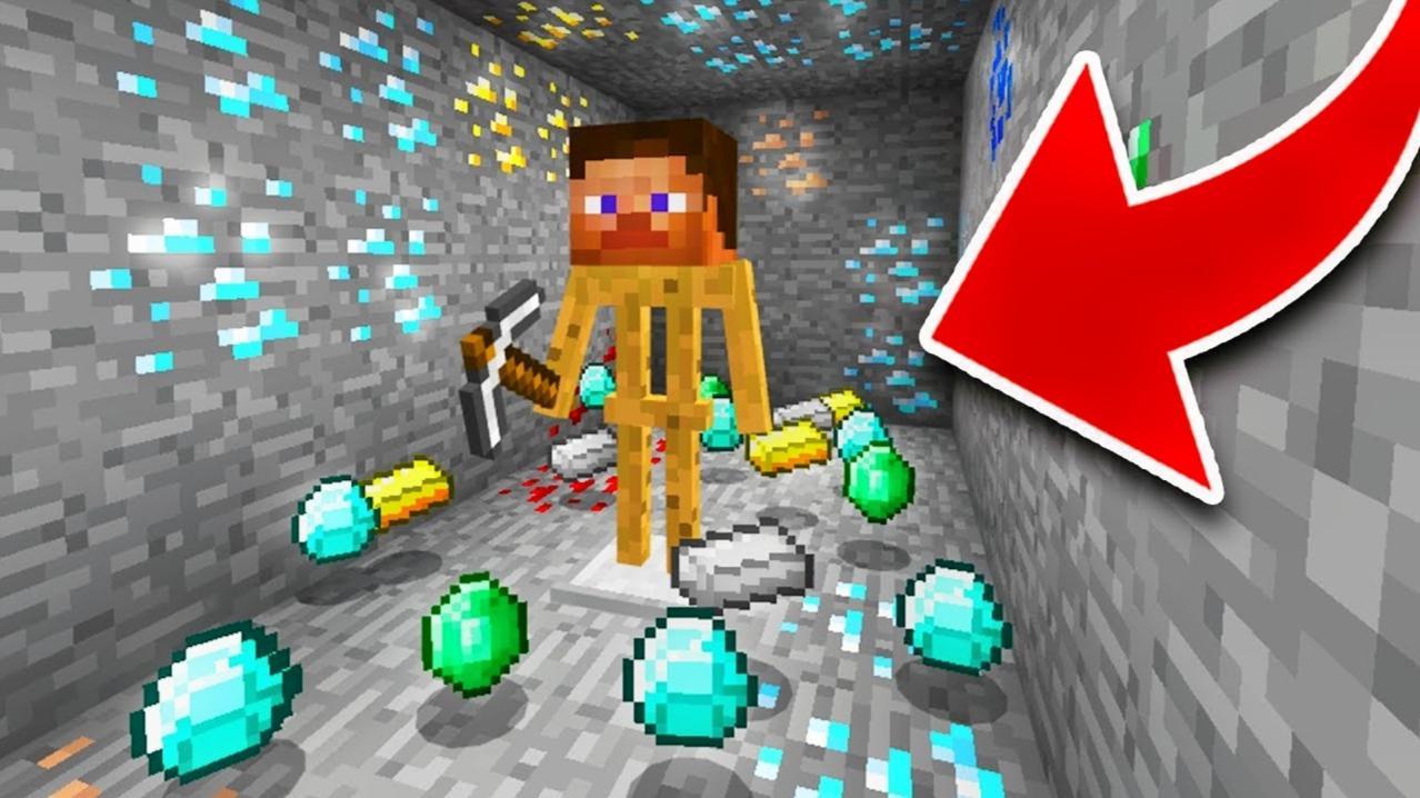 我的世界挖矿再也不难了,魔哒穿越到另外的平行世界里去挖钻石