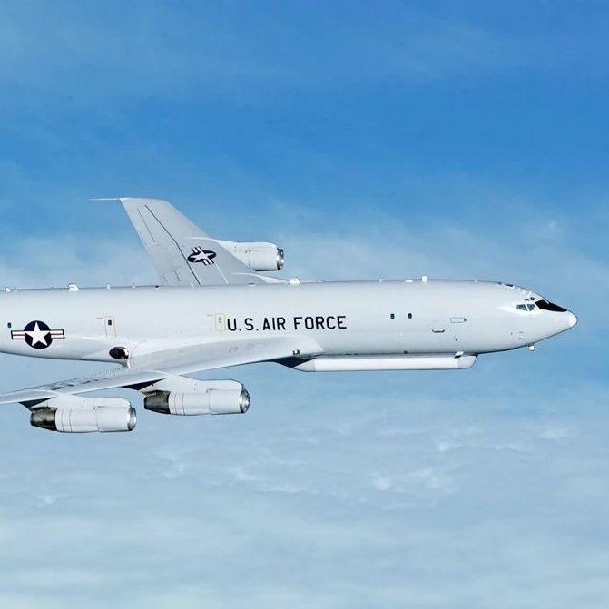美军罕见派出E8C侦查中国 逼近广东海岸125公里